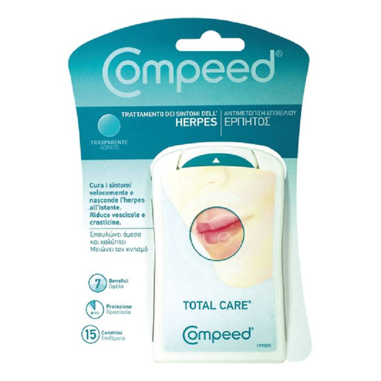 COMPEED HERPES PATCH 15PZ