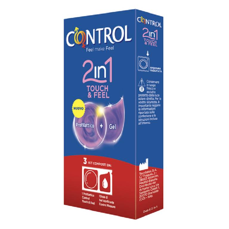 CONTROL 2IN1 TOUCH&FEEL 3PZ